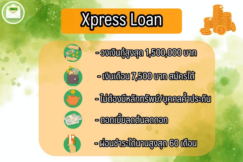 5 สินเชื่อเงินด่วน ได้เงินไว ใน 24 ชม. 2563 [ยืมเงินด่วนออนไลน์] xpress loan