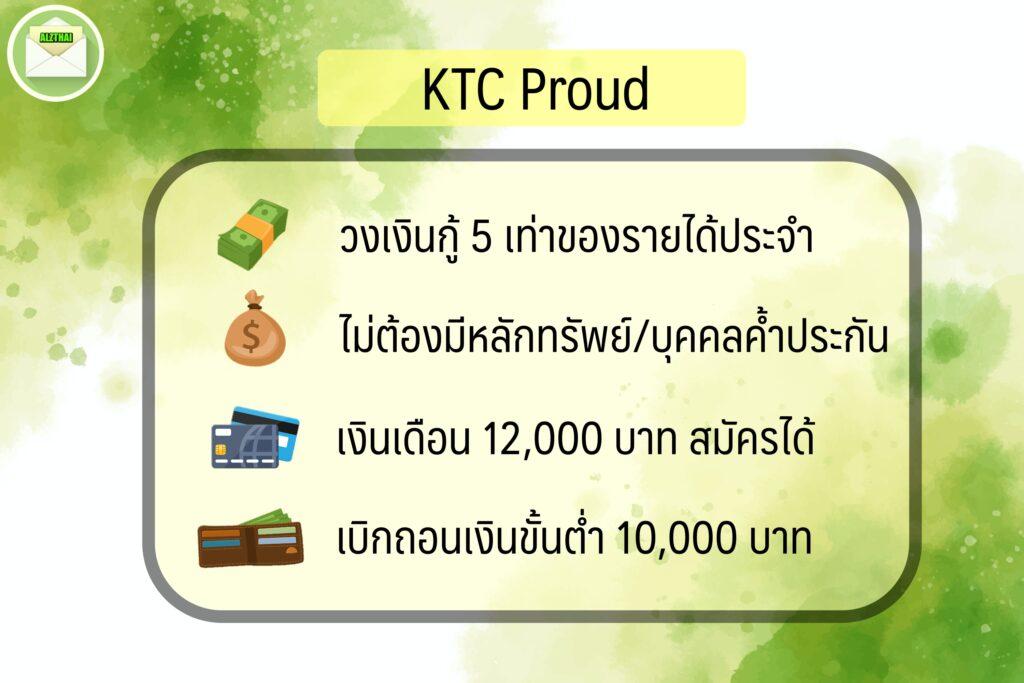 สินเชื่อเงินเดือนน้อย 2563 สินเชื่อ อนุมัติง่าย เงินก้อน 2020 บัตรกดเงินสด ktc proud