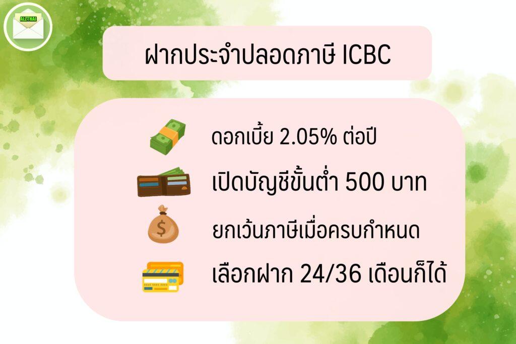 เปิดบัญชีธนาคารไหนดี สำหรับนักเรียน/ ออมเงิน 2563.เปิดบัญชีเงินฝาก ดอกเบี้ยสูง ธนาคารไอซีบีซี (ไทย) ICBC